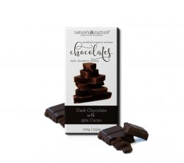 99% ORGANIC DARK CHOCOLATE WITHOUT ADD ON SUGAR