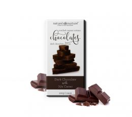75% ORGANIC DARK CHOCOLATES