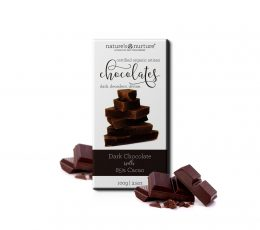 85% ORGANIC DARK CHOCOLATES
