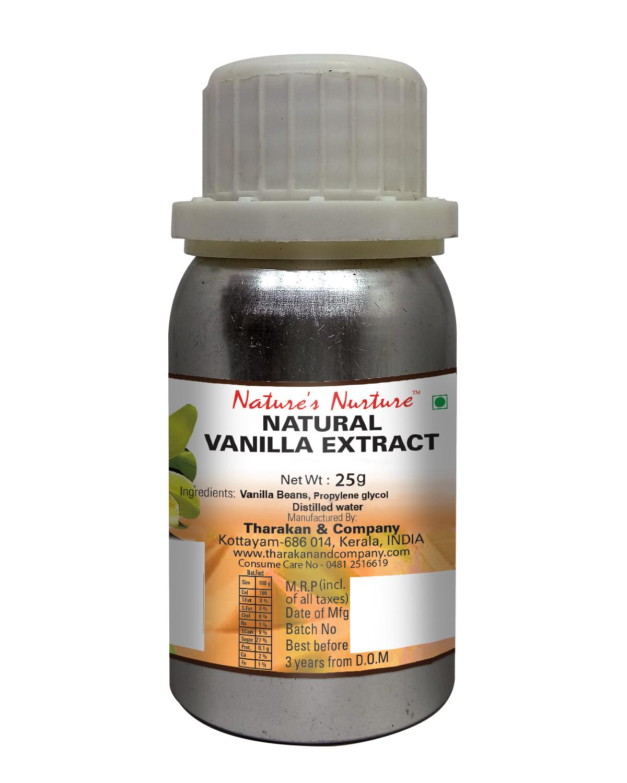 NaturesNurture Vanilla Extract 1 fold 25gm 1