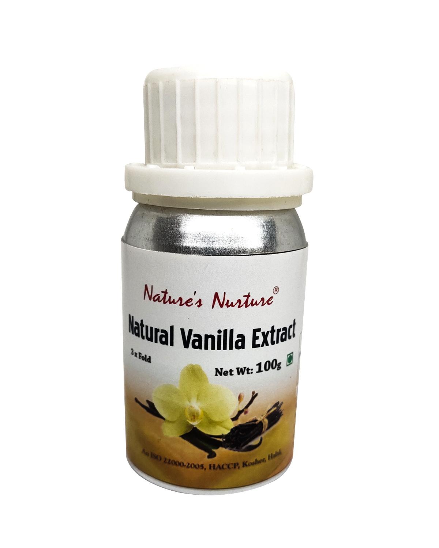 NaturesNurture Vanilla Extract 3 fold 100gm 1