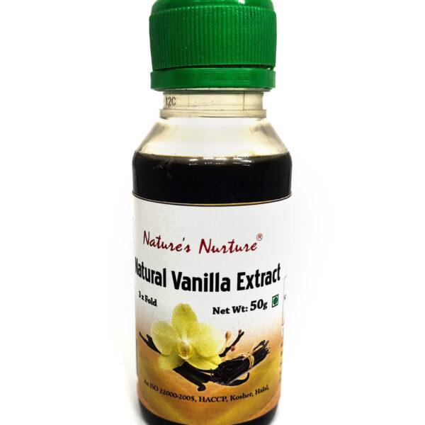 NaturesNurture Vanilla Extract 3 fold 50gm 1