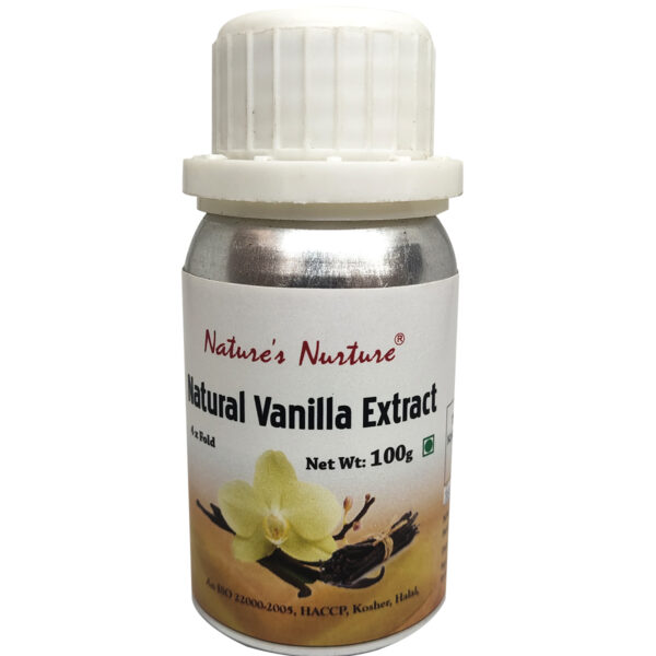 NaturesNurture Vanilla Extract 4 fold 100gm 1