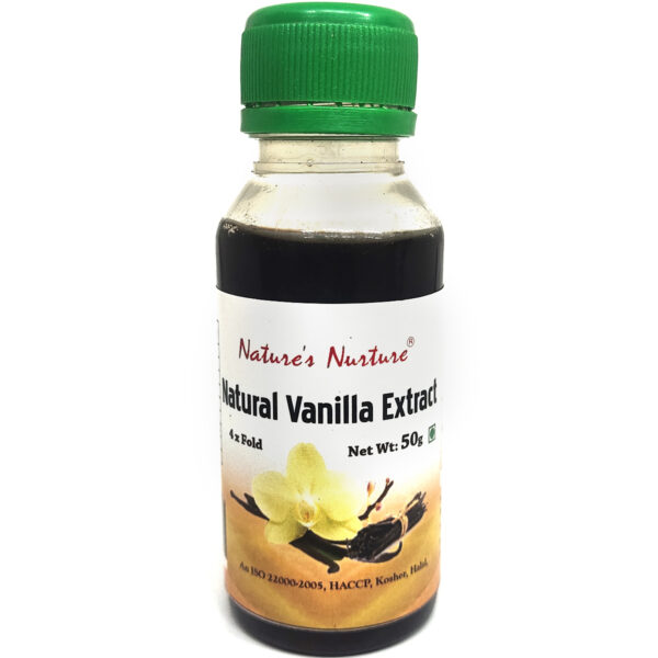 NaturesNurture Vanilla Extract 4 fold 50gm 1